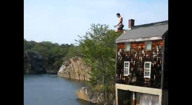 Alan Perlman Cliff Jump