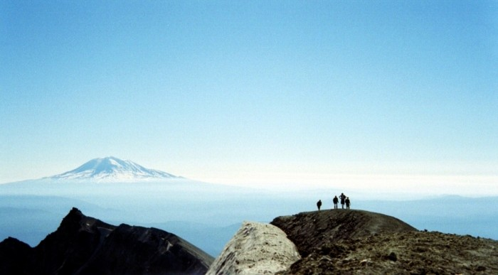 Mt. St. Helens Silhouette