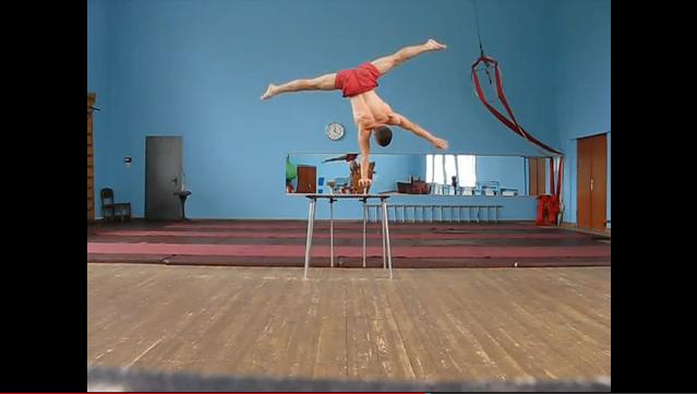 Insane Russian Balance Training