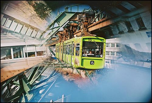 Wuppertal Schwebebahn floating tram