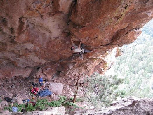 matt samet rock climbing