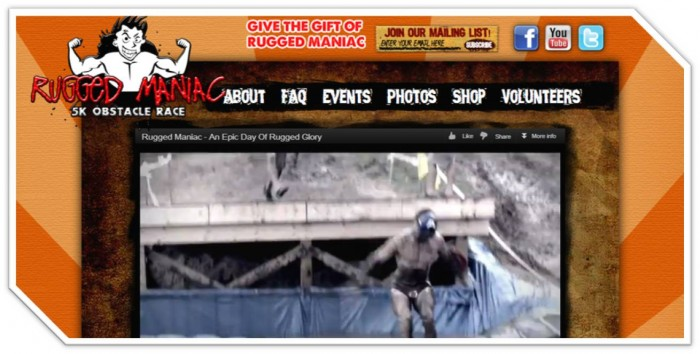 rugged maniac website