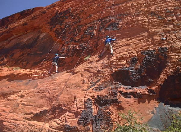 top 6 rock climbs near las vegas in red rock canyon