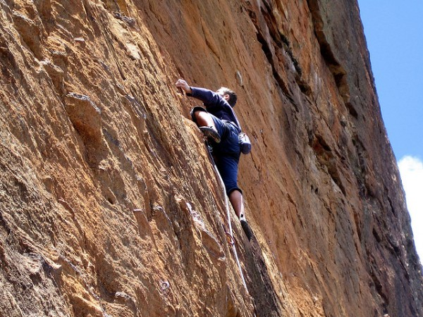 best rock climbs in sydney blue mountains