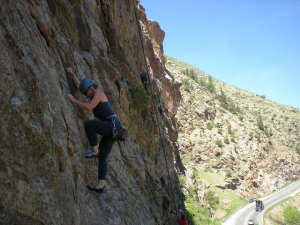 top 5 rock climbs near denver clear creek canyon