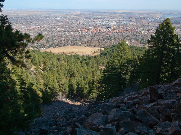 first flatiron trails in chautauqua park denver day hikes