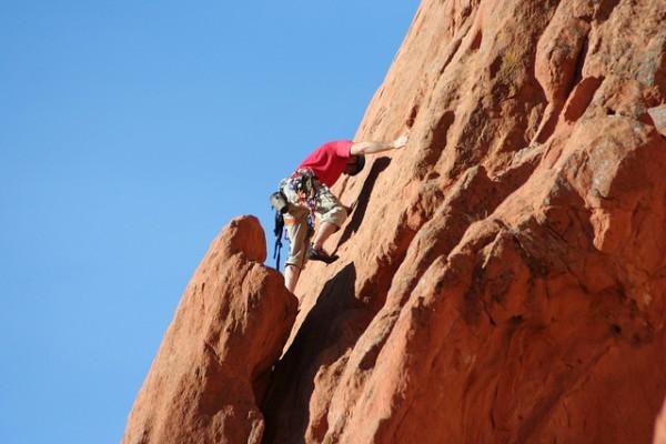top 5 rock climbs near denver garden of the gods