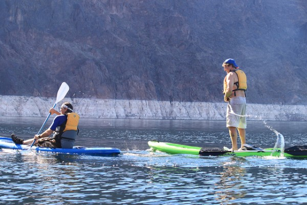 kayak lake mead las vegas top 5 adrenaline activities