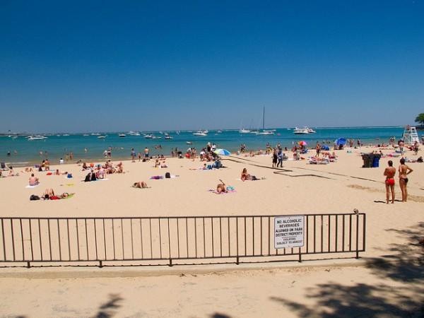 ohio street beach 5 best beaches in chicago