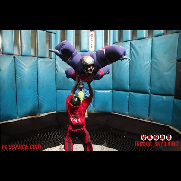 las vegas top 5 adrenaline activities indoor skydiving