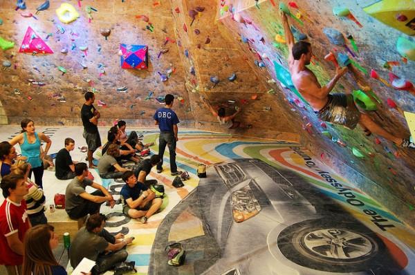top 5 indoor rock climbing gyms denver bouldering club