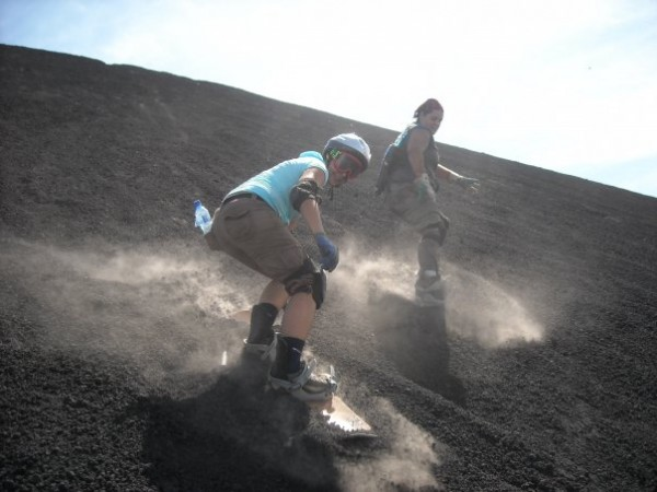volcano surfing 10 most bizarre extreme sports
