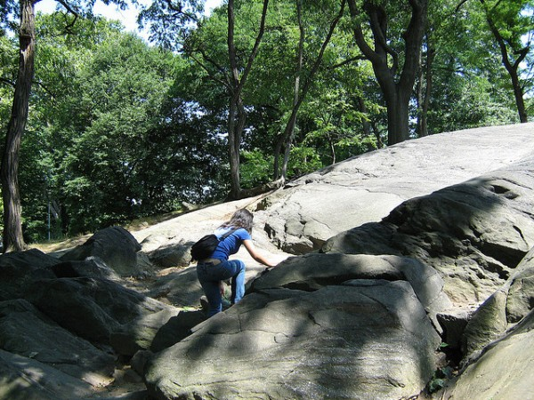 10 action sports for nyc residents bouldering in central park