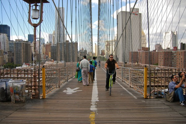 10 action sports for nyc residents brooklyn bridge running