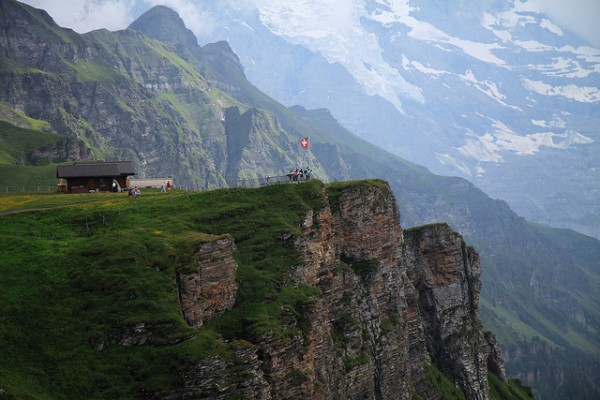 wengen switzerland 8 best countries for extreme tourism