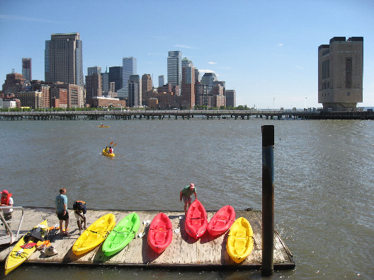 10 action sports for nyc residents kayaking on the hudson river